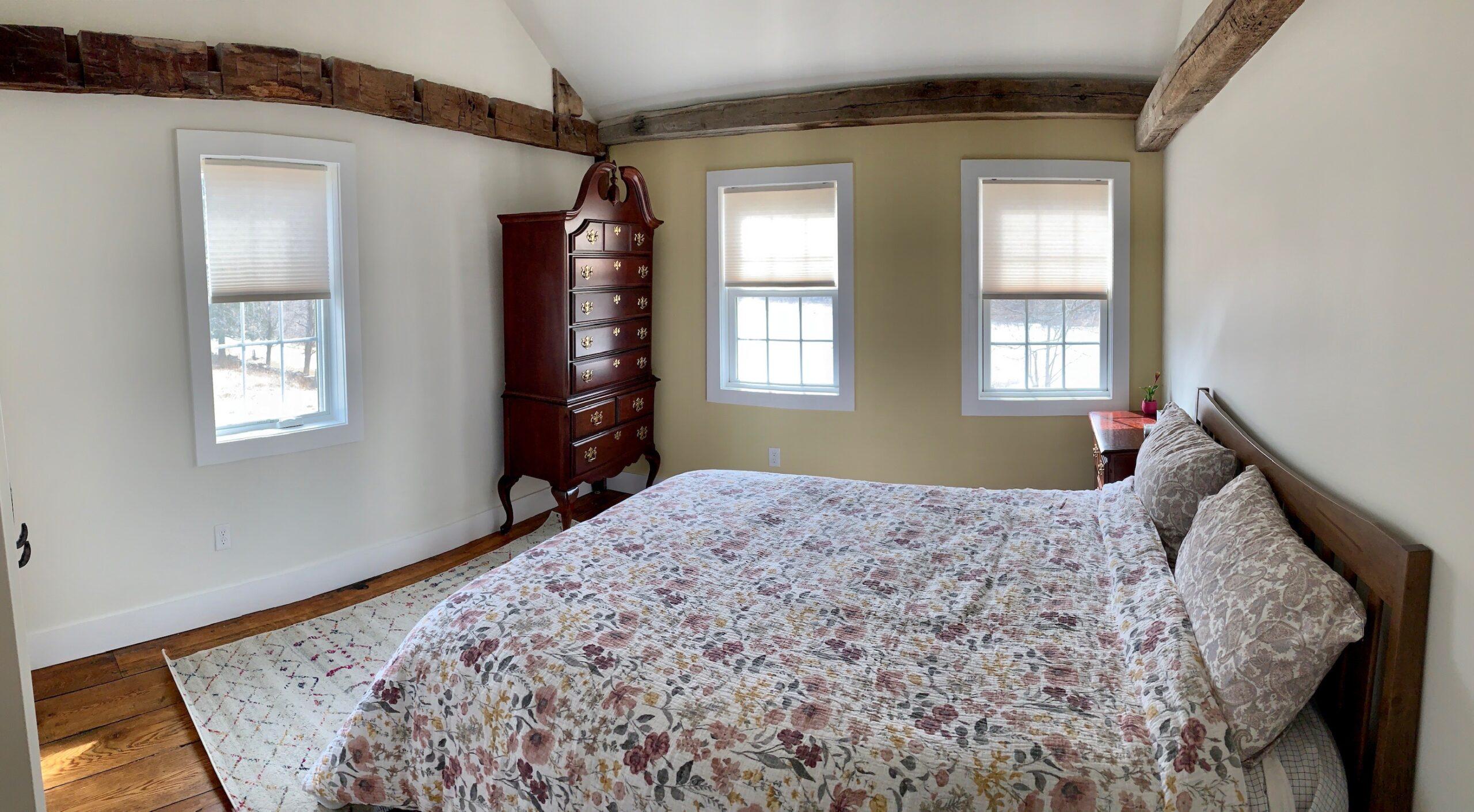 cedar bedroom view from the door