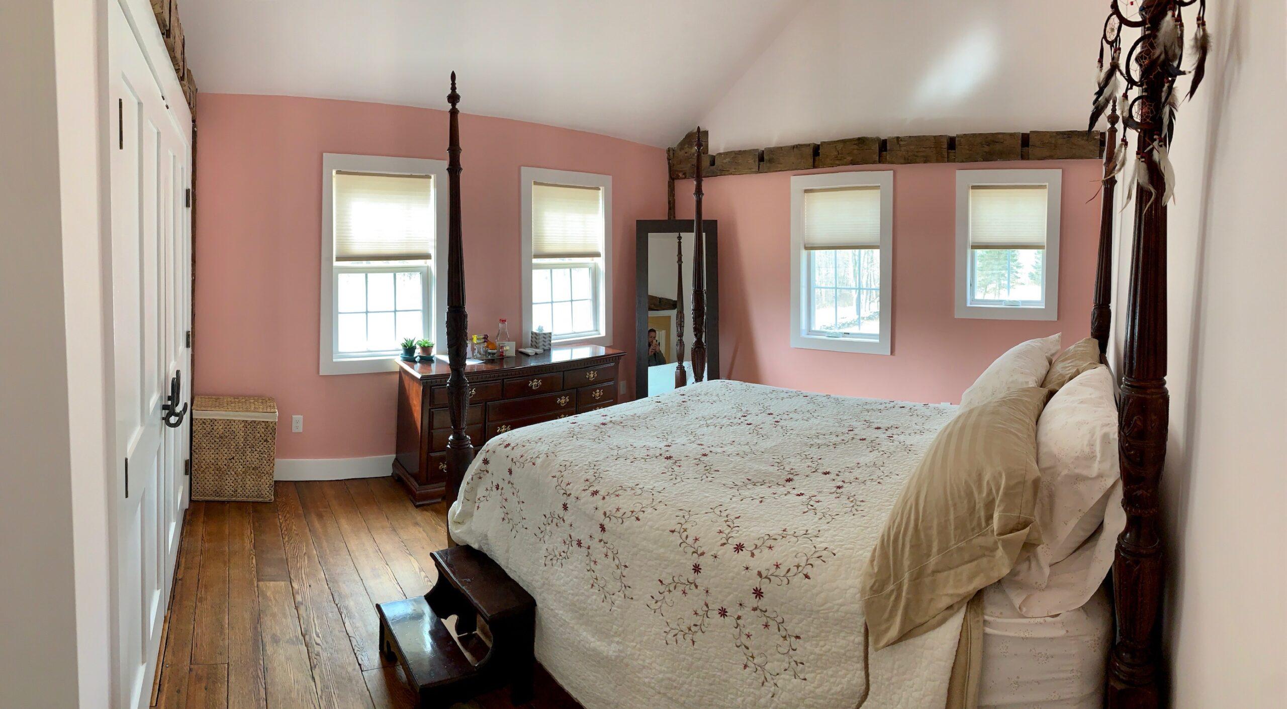 ping bedroom view from the door